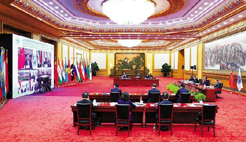 出席阿富汗问题峰会 倡对话协商平稳过渡