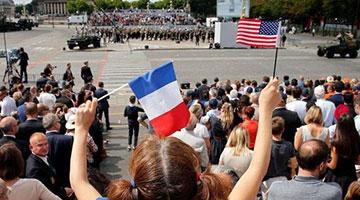 """不满美国政府""""截胡"""" 法国取消美法同盟庆祝活动"""
