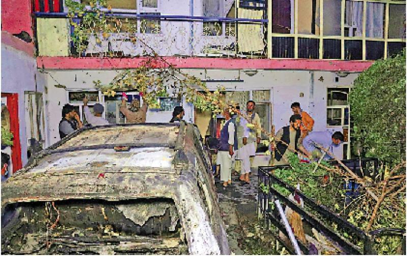 美承认空袭喀布尔杀10平民 涉犯战争罪