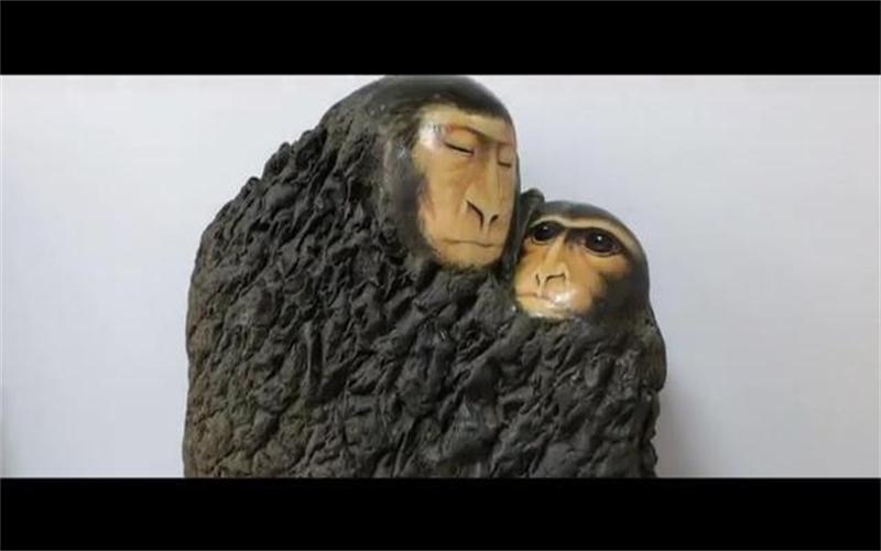 萬人說新疆丨有趣的石頭創意畫,太神奇了吧!