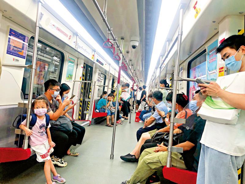 城市地铁联网 助建交通强国