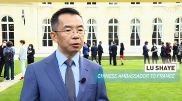 """我驻法大使谈""""潜艇事件"""":理解法国民众的愤怒情绪"""