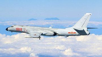 解放军24架军机巡航台岛