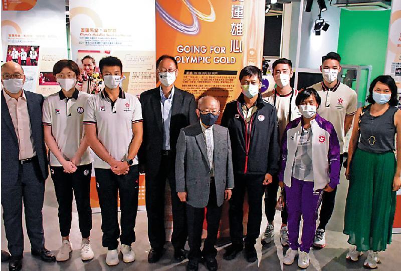 奥运雄心展览重温港健儿奋斗路