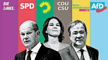 """德国今日大选三强争上位 将迎来""""后默克尔时代"""""""