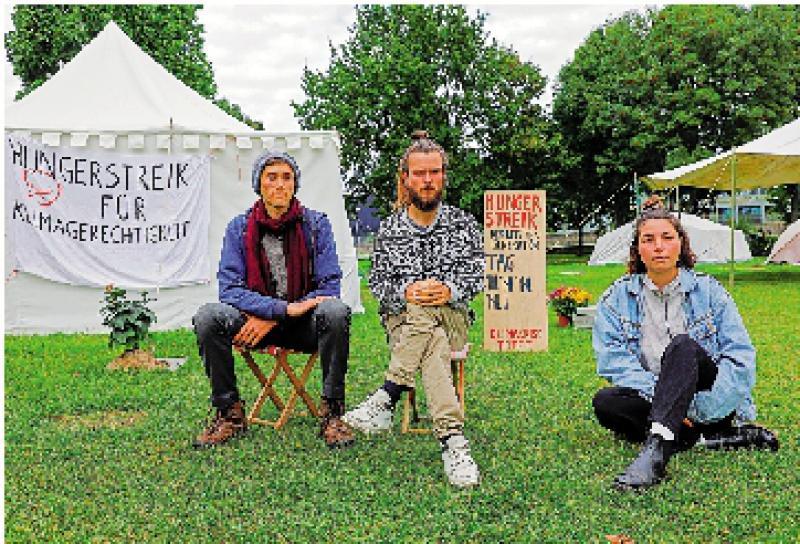 肖尔茨承诺与气候示威者对话