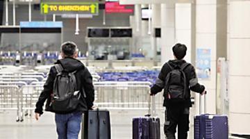 林郑:香港本地疫情受控 正力争与内地通关