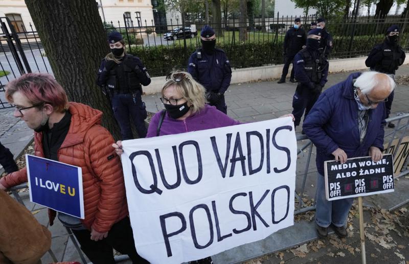 """不满欧盟法院管太多 波兰想""""脱欧"""""""