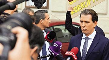 因卷入贪腐丑闻受调查 奥地利总理库尔茨下台