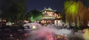 """【母亲河畔的中国】洛邑古城:一步一景 来一场""""唐朝穿越之旅"""""""
