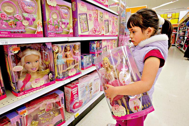 """美加州商场须设玩具""""性别中立""""区"""