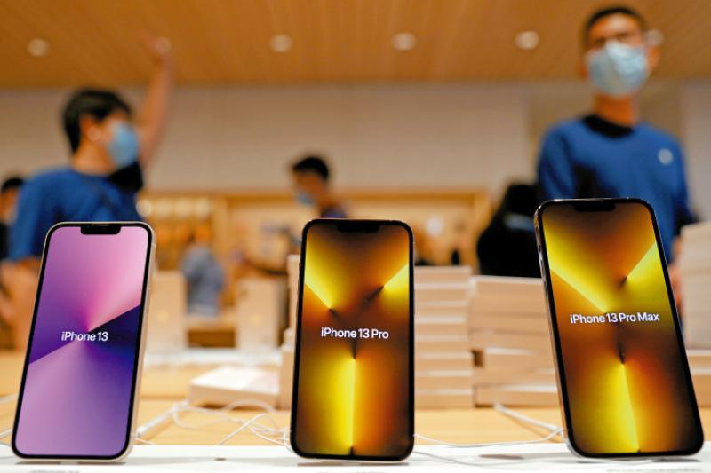 苹果芯片荒 或减产1000万部iPhone 13