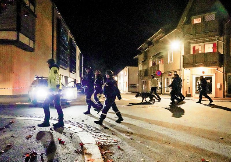 人心惶惶/挪威孤狼恐袭 弓箭射杀五人