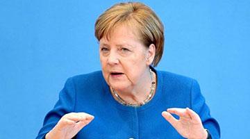 默克尔警告:欧盟内部存在离心势力