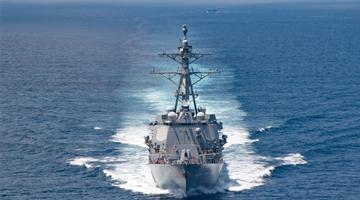 美加军舰过航台湾海峡 东部战区回应!