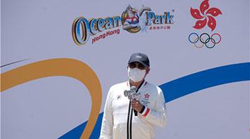 霍震霆:争取由香港举行全运会开幕式