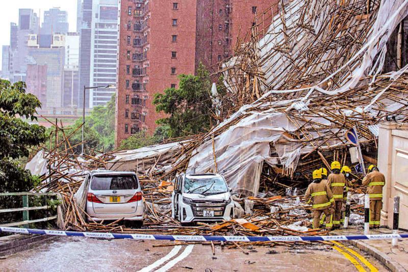 资讯站/台风与东北季风叠加 暴雨成灾