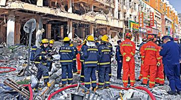 沈阳燃气爆炸已致4死47伤 目击者:看见丈夫被炸飞