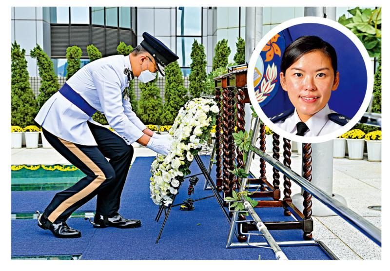 警队纪念日悼殉职警 萧泽颐:坚决遏止危害国安行为