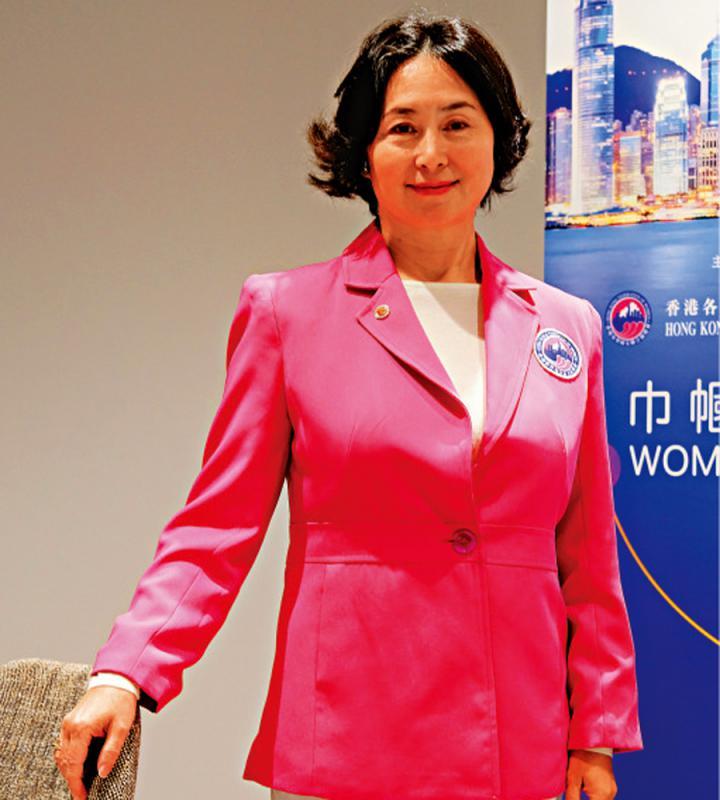 何超琼:借论坛展现港妇女软实力