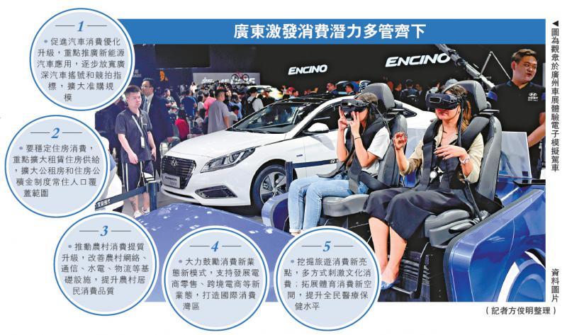大湾区热线 广东推29条 铸造国际消费湾区