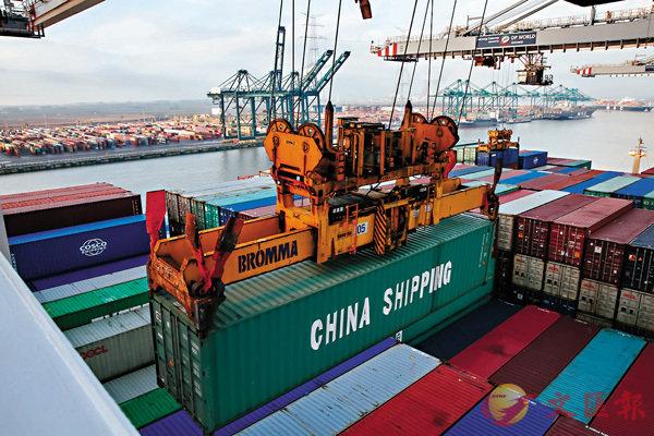 首五月中国进出口增4.1% 对欧贸易增11.7%