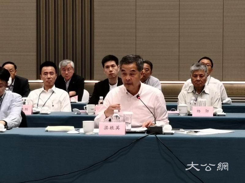 港区政协委员考察山东 促两地新产业合作