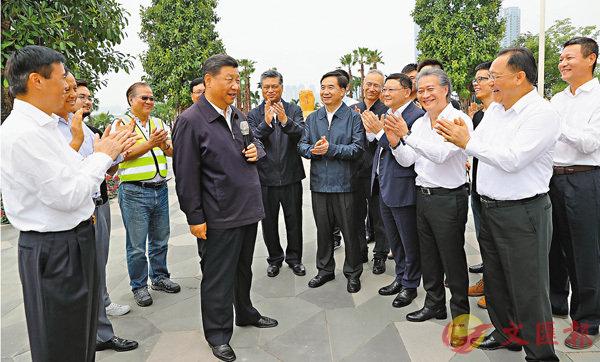 习近平:支持深圳建设先行示范区