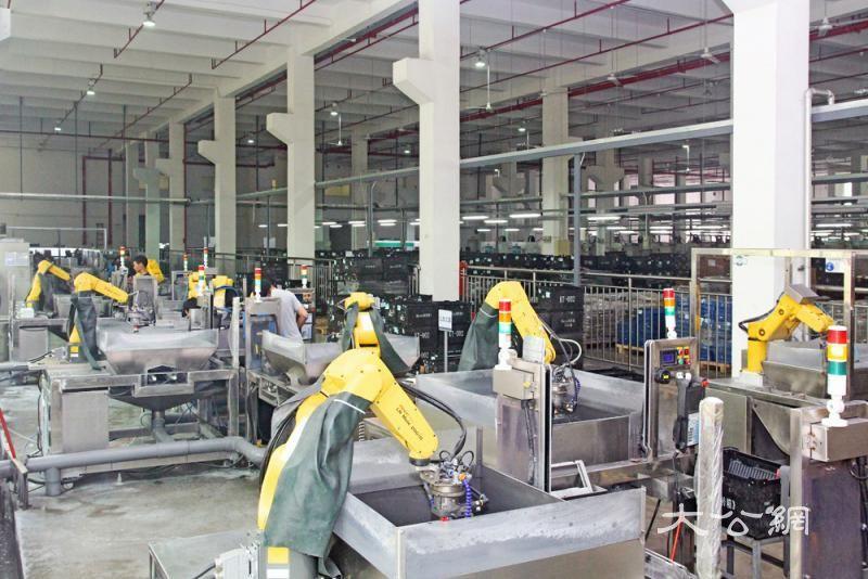 深圳机器人企业产值1200亿增14%