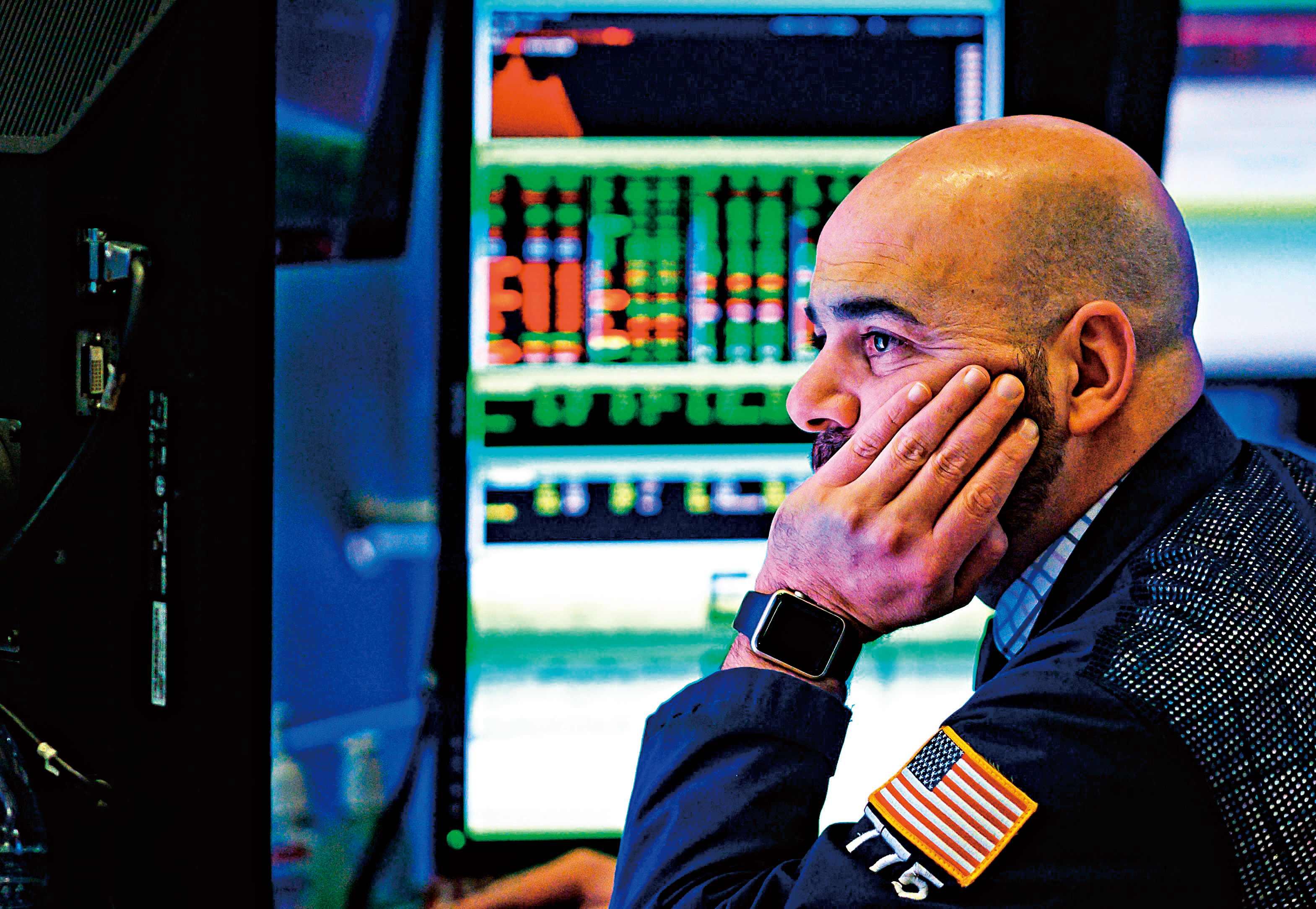 美债收益率倒挂 欧美股市暴跌