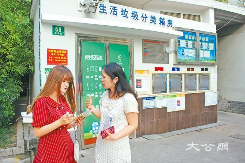 上海一日垃圾两万吨