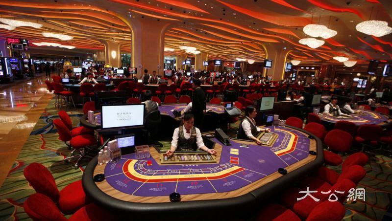 澳门上月赌收跌8.6%今年最惨