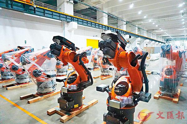 5年内实现年产能7.5万台库卡佛山建造全球最大机器人基地