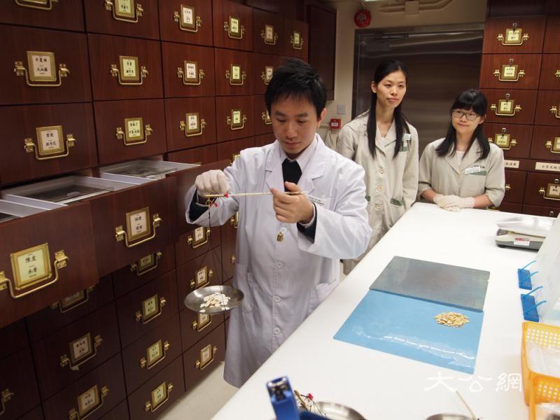 将军澳兴建中藥检测实验室