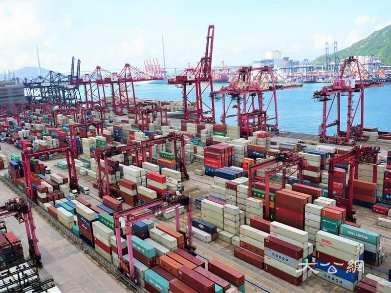 贸战拖累 港出口连跌12个月