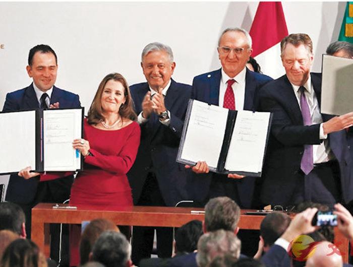 民主党首肯美墨加再签贸易协定