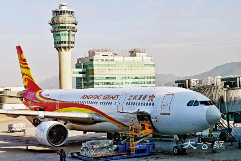 港航财困 被机管局扣留七架飞机