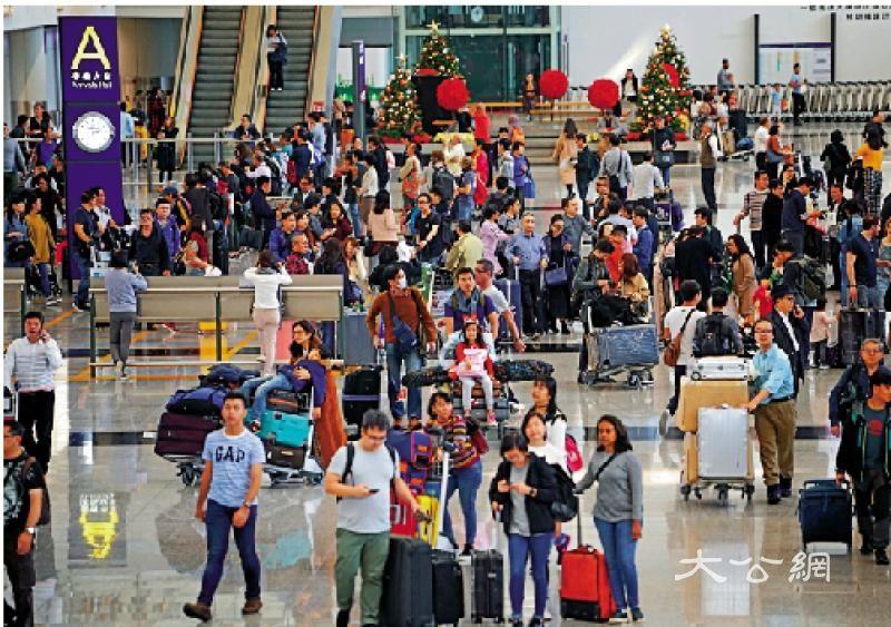 新春假期料594万人次出入境