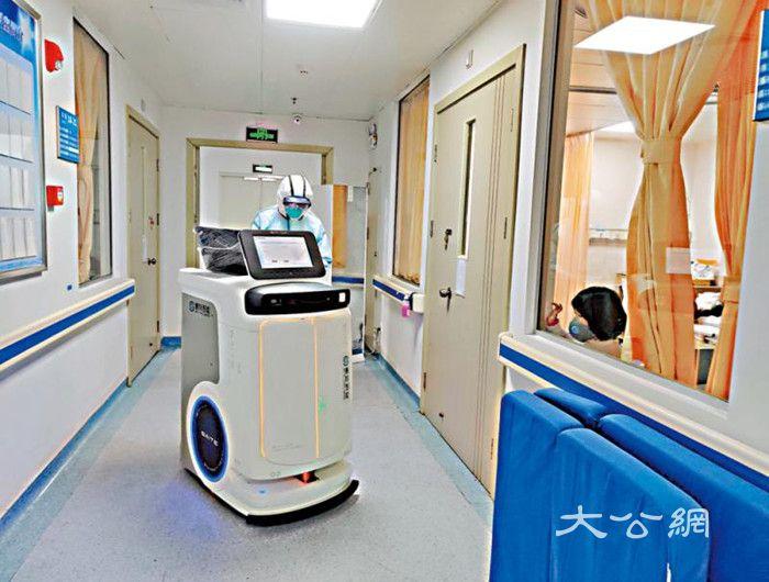 一机器人顶八医护 粤企随时支援