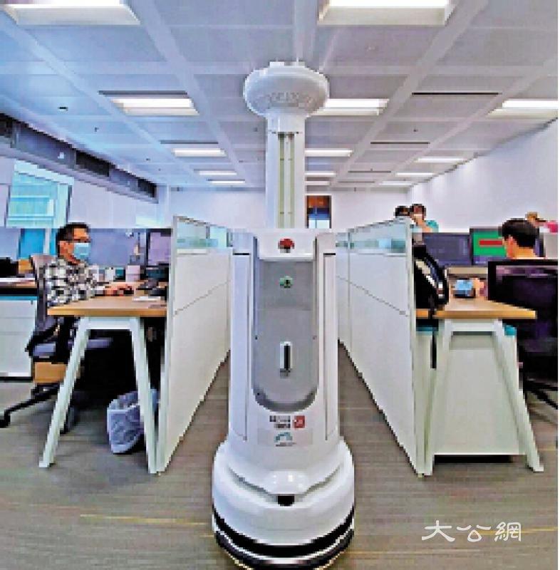 公司清洁监测 机械人受重用