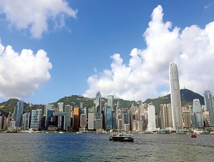 香港金融中心前景光明