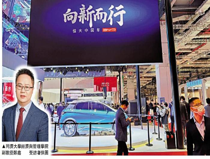 智能车新势力冒起 传统品牌急转型