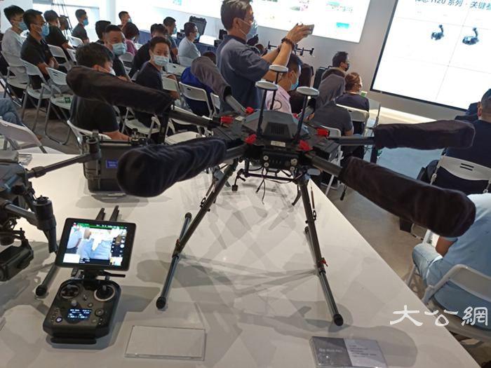 大疆无人机挑战最强性能空中解决方案更趋智慧
