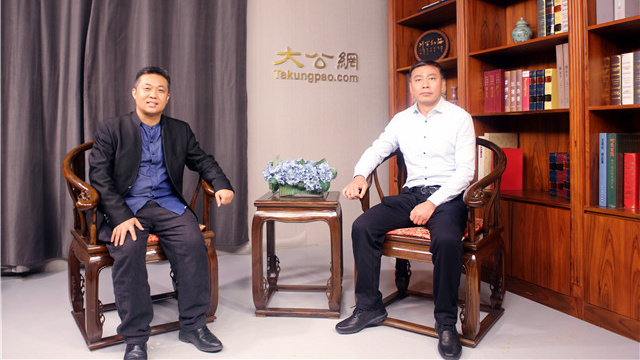 北京市门头沟区委宣传部副部长宋爱民一行到访大公网